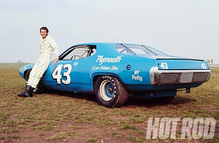 richard petty cars by year