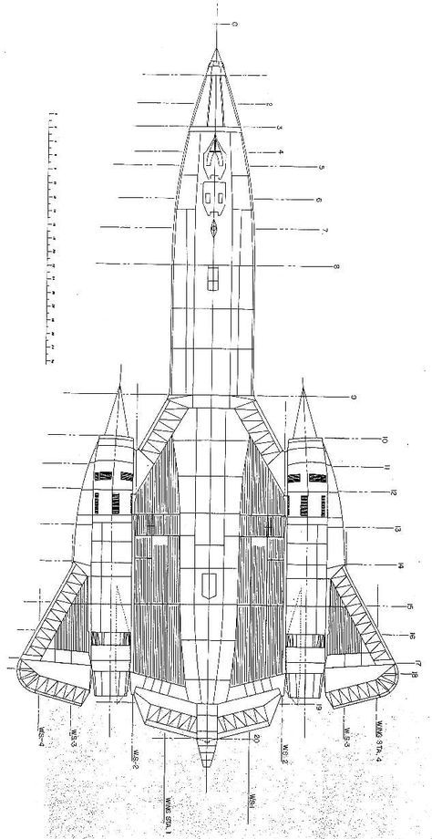 schematic of the sr 71 math and engineering aircraft engineering rh pinterest com