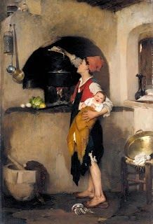 nikiphoros lytras_in the kitchen_1872