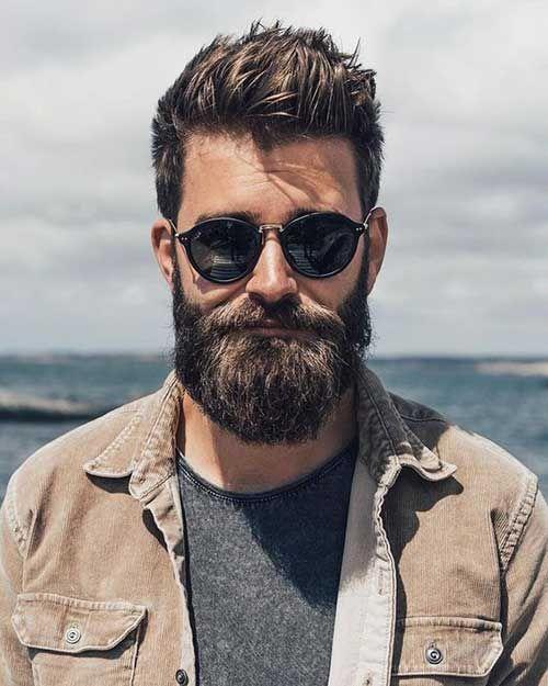 Stilvolle Bart Stil Für Jungs Bärte Muskeln Brusthaar Tattoos