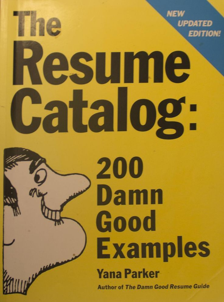 A Review of The Resume Catalog: 200 Damn Good Examples