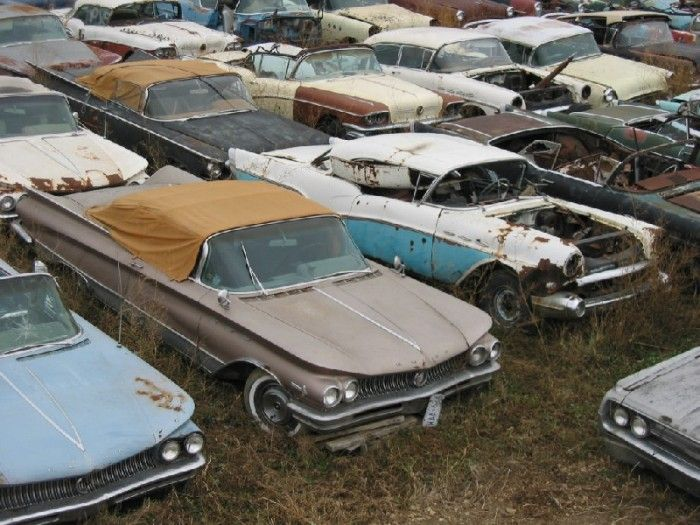 One Man S Collection Of More Than 600 Vintage Cars And