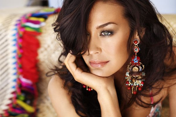 Megan Gale our girl in oz