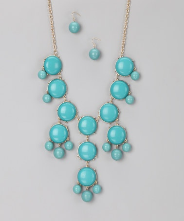 Turquoise Bubble Necklace