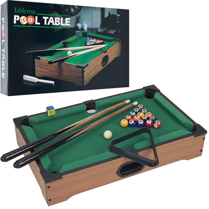 Trademark Commerce 15 3152 Gamest Mini Table Top Pool Table W/ Accessories