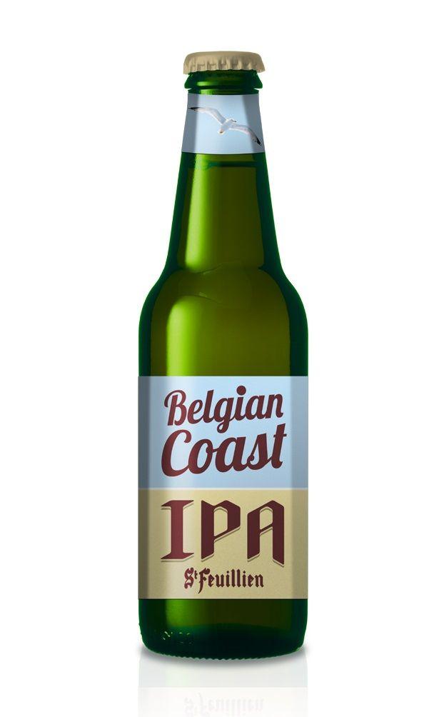 Belgian Coast IPA, India Pale Ale (IPA) 5,5% ABV (Brasserie St-Feuillien / Friart, Bélgica) [Micromalta, diciembre 2017]