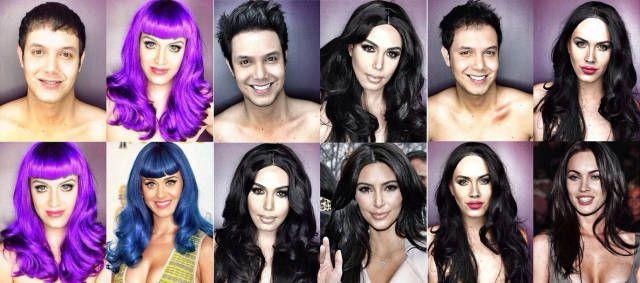 10 Incredible Celebrity Makeup Transformations  - Cosmopolitan.com