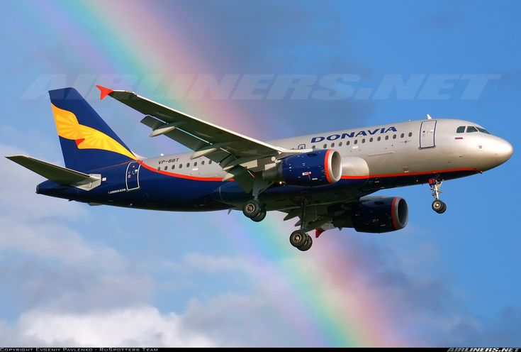 Donavia VP-BBT Airbus A319-112 aircraft picture