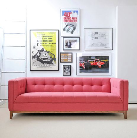 66 best GlobeWest | Gus* Modern images on Pinterest | 3 seater sofa ...