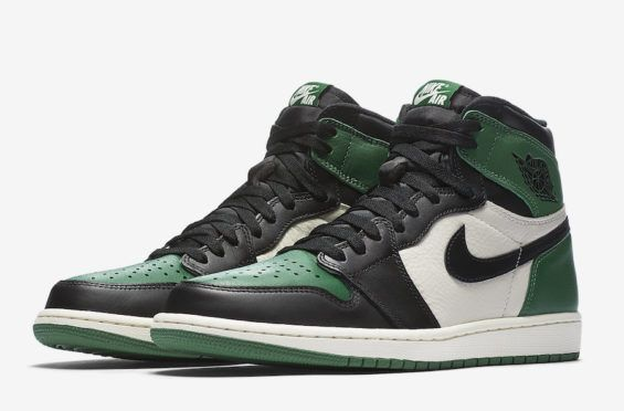 Official Images Air Jordan 1 Retro High Og Pine Green Kicksonfire Com Air Jordans Retro Air Jordans Jordan 1 Retro High