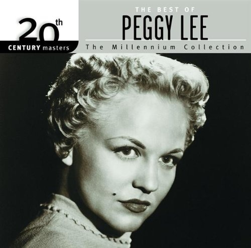 Peggy Lee 20th Century Masters: Millennium Collection Album Cover