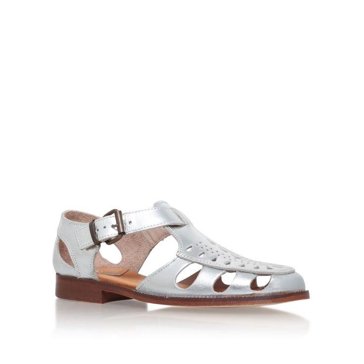 H by Hudson Sherbert low heel sandals, Silver