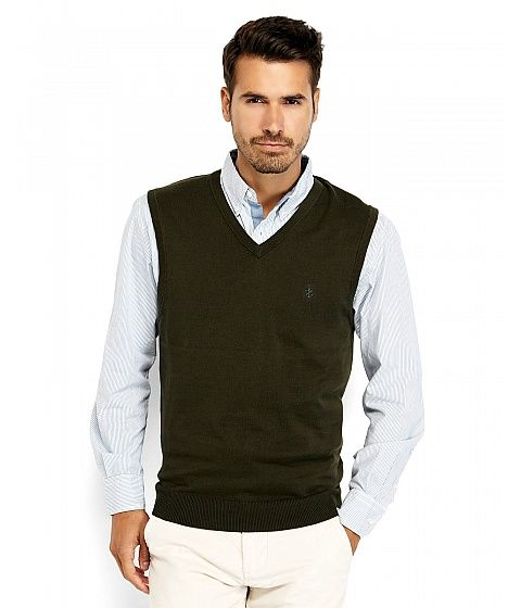 A perfect gift for Christmas, for your husband or father: a green vest. Don't forget about the  4% cashback for shopping through CashOUT #cashback #menfashion #menvest
