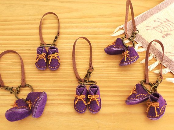 Mini Leather Boots Keyring Leather Doll Boots Keyring Bag
