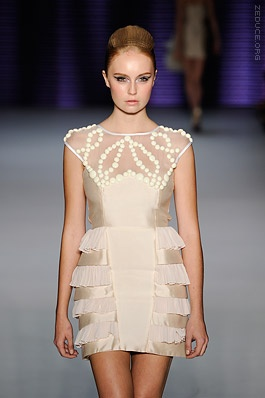 beaded dress by nicola finetti $1198