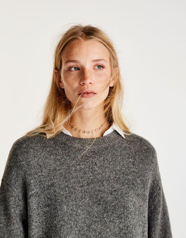 :Camisola básica soft