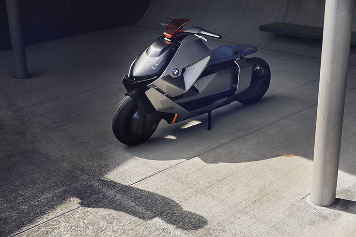 BMW представила концепт мотоцикла Motorrad Concept Link