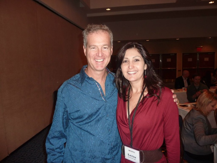 Me (Katrina Kavvalos) with the awesome Jeff Walker. Jeff is one to the world's leading Internet Marketers. He is very well known for 'Product Launch Formula' - you can connect with Jeff on Twitter @JeffWalker and on his website  http://www.productlaunchformula.com/    You can also connect with me on http://www.Facebook.com/KatrinaKavvalosPage ~ looking forward to connecting with you there :-))