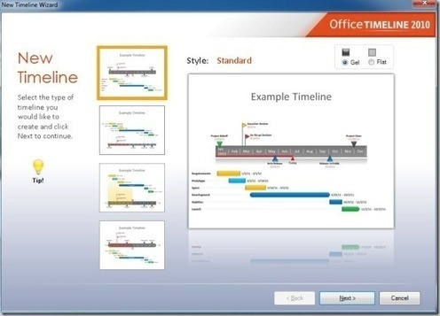 timeline add in for powerpoint