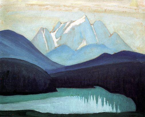 Lawren Harris Emerald Lake c.1924 12x15 inches, oil