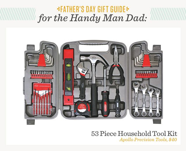 10 Best Father S Day Gifts For Every Type Of Dad The Gentlemanual Household Tools Hand Tool Sets Home Tool Kits