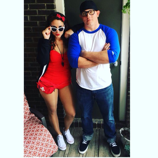 Our awesome costume for Halloween. #Sandlot