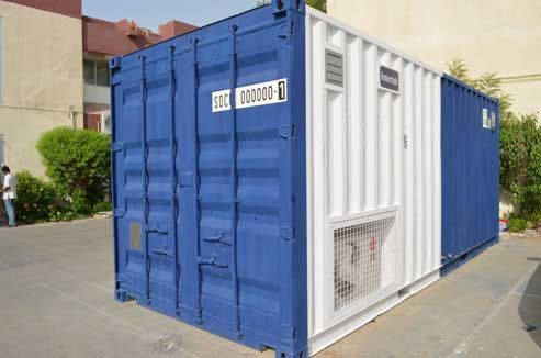 Prefabricated Container Building Solutions