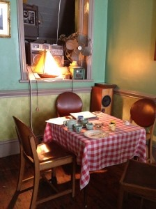 Time for Tea tearoom in Shoreditch, London.