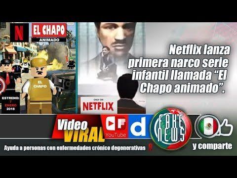 "Netflix lanza primera narco serie infantil llamada ""El Chapo animado""."