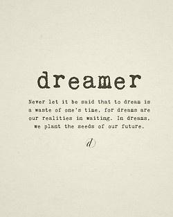 Dreamer poem