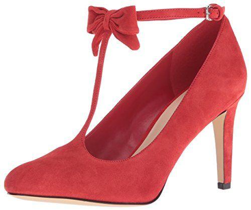 Bomba Hollison Suede Dress para mujer, roja, 10 M US