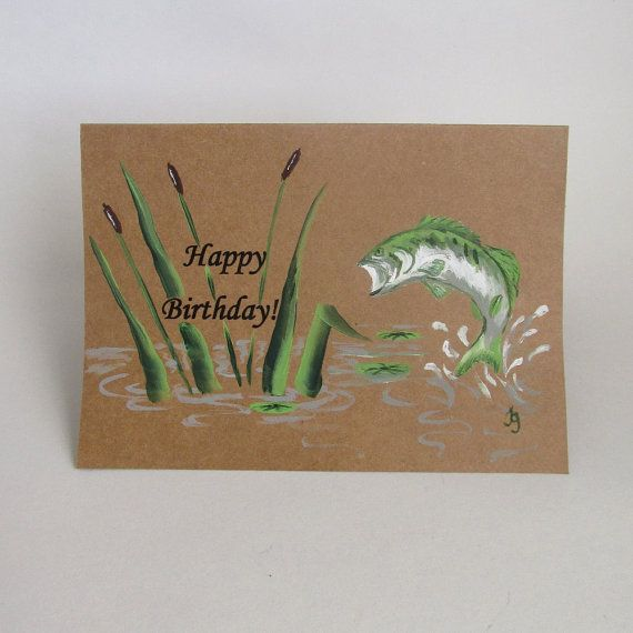 17 Best images about Fishing Hunting Cards – Fish Birthday Card