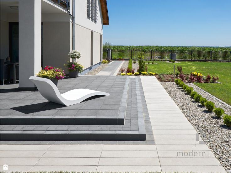 Szezlong Harmony - beton architektoniczny - zdjęcie od Modern Line - Taras - Styl Nowoczesny - Modern Line
