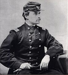 Robert Gould Shaw was an American officer in the Union Army during the American Civil War. As Colonel, he commanded the all-black 54th Massachusetts Infantry Regiment, which entered the war in 1863. He was killed in the Second Battle of Fort Wagner, near Charleston, South Carolina.