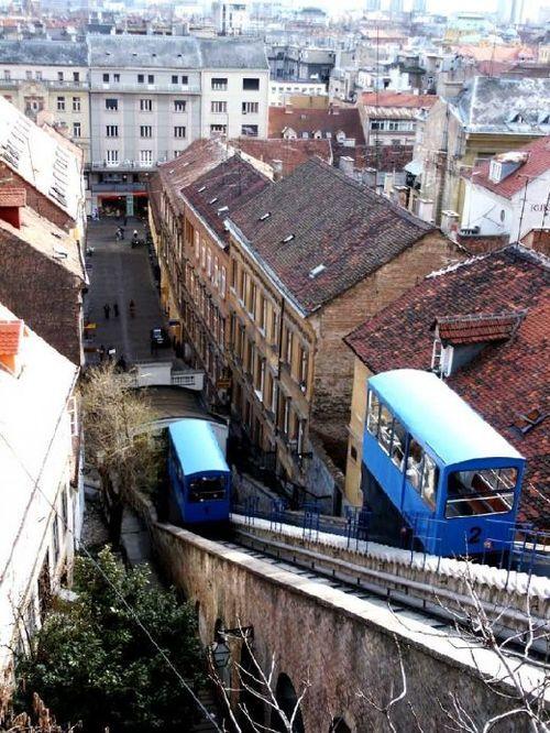 Zagreb, Croatia. Die stegies se naam is Eugene.