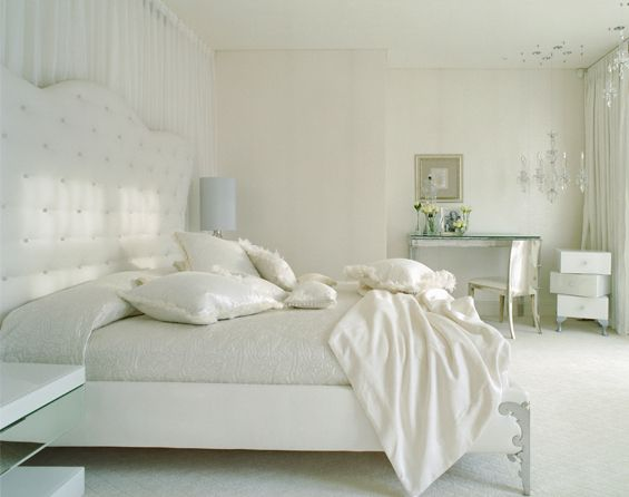 The Most Comfy Looking White Room Ever · White Bedroom DecorBedroom  IdeasBedroom ...
