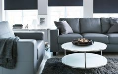 Living Room Furniture - Sofas, Coffee Tables & Inspiration - IKEA - positioning sofa and chair in front of the window