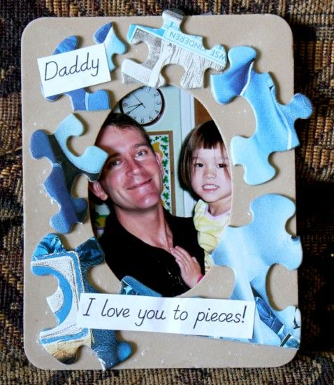 Easy Father's Day Frame Craft | Simply Kelly Designs