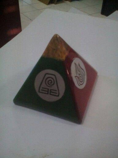 Piramid #orgonite - kreasi lama di www.facebook.com/jopower.orgonite