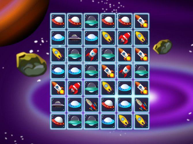 Ez az összekötős játék a galaktikus térben játszódik, ahol egy űrbázist üzemeltetsz. Az űrhajók akkor távozhatnak a bázisról, ha két egyforma ikont összekötsz. Rafinált dolog!   #madzsong jatek