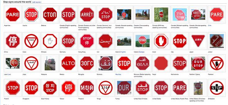 world signs