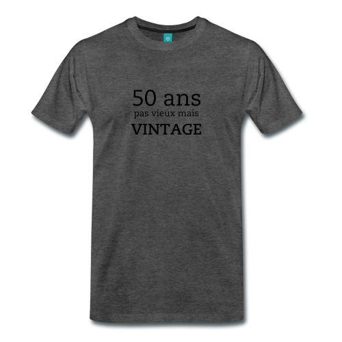 50 ans, vintage - T-shirt Premium Homme