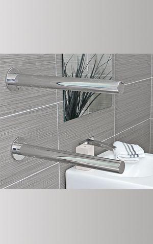 Heated towel rail, elite bathrooms, DC Short - Truego $339