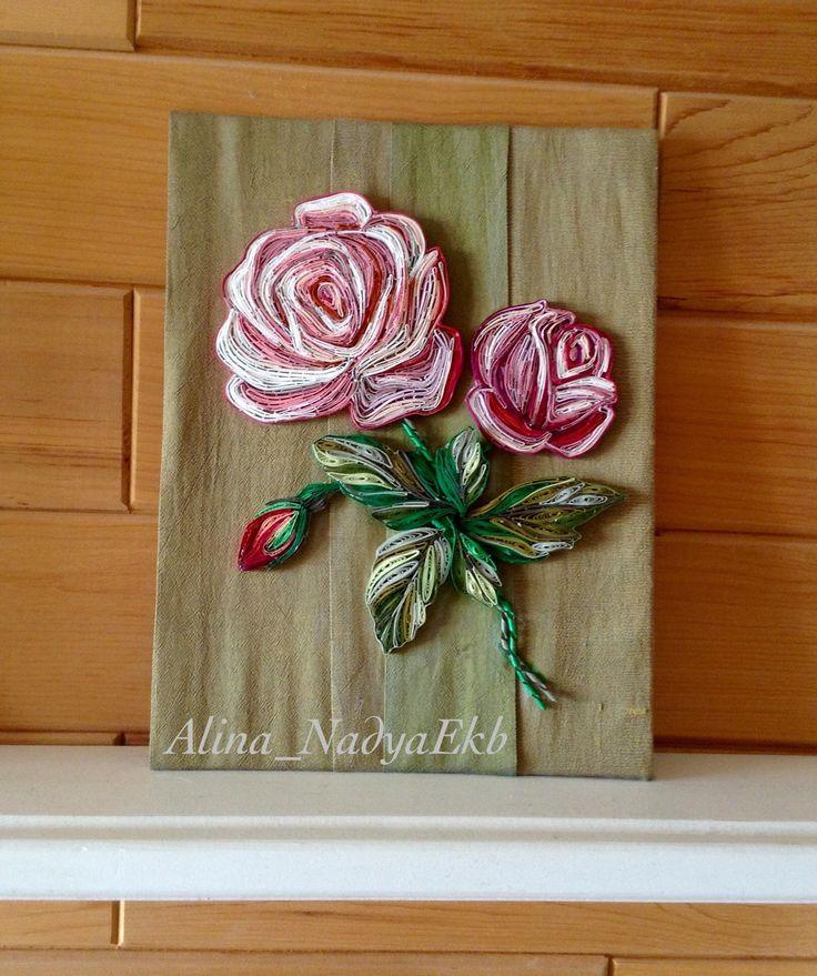 Quilling rose