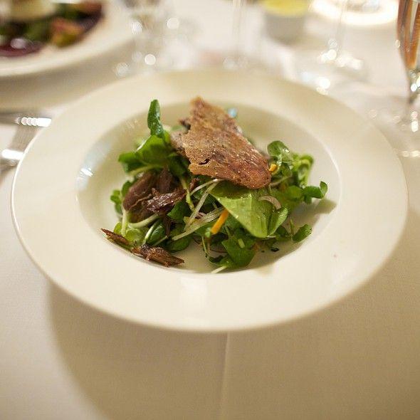 Crispy Duck Salad @ Fallon & Byrne