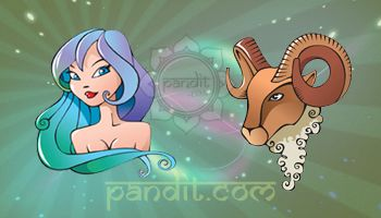 VIRGO AND ARIES COMPATIBILITY by Rahul Kaushal Astrologer -------------------------------------------------------- From the surface, they seem true lovers and can up to any extent for each other. Because of travelling on different paths for achieving goals and different timings may disturb their compatibility. As a result, the couple may desire to become master-slave team. http://www.pandit.com/virgo-love-sign-compatibility/