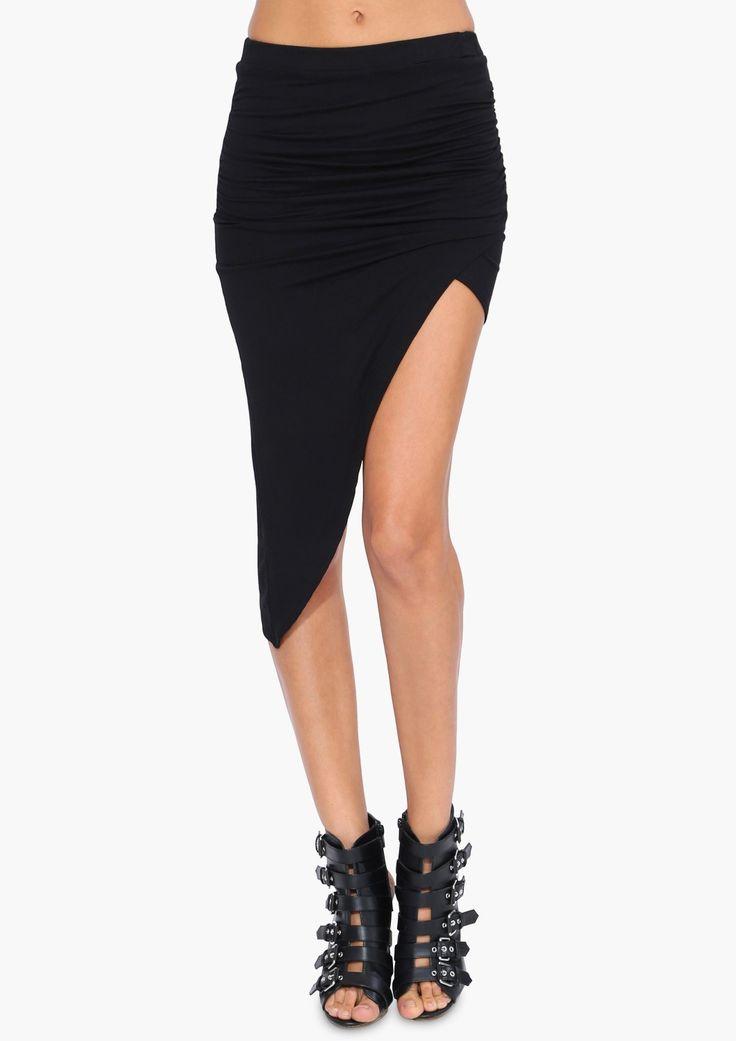 Asymmetrical Skirt 100