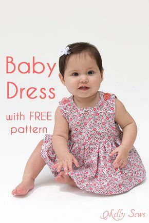 Free baby dress pattern with tutorial!