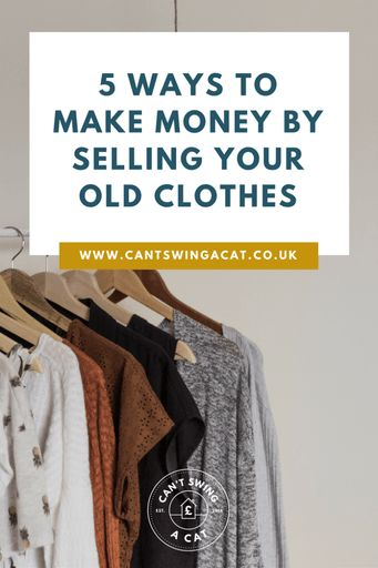 5 Ways To Make Money Selling Your Old Clothes | Money Making Tips  | Money Saving Tips