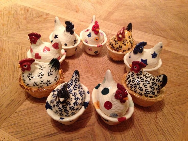 Emma Bridgewater Bright Flowers Hen Egg Coddlers